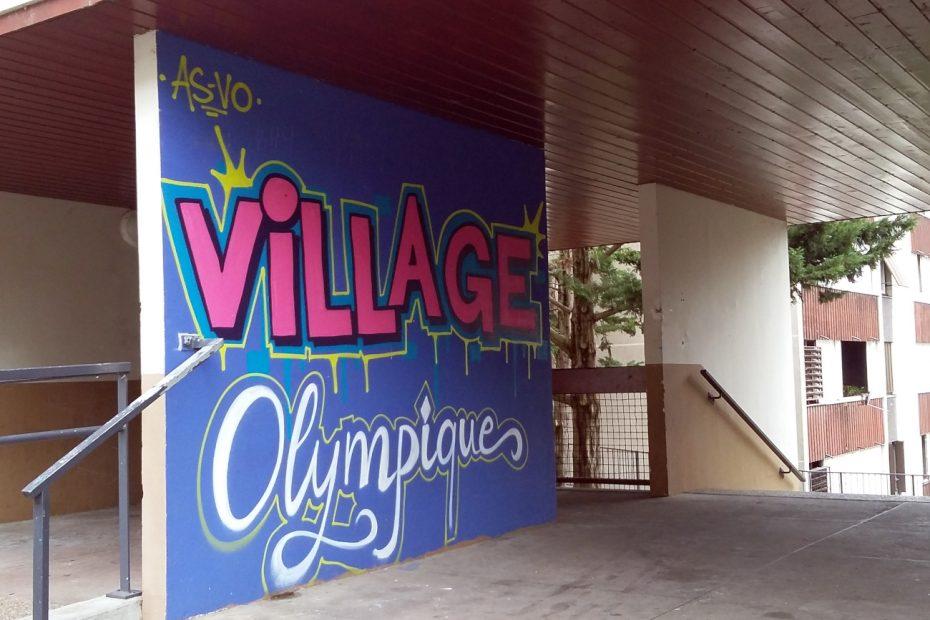 Fresque Village Olympique